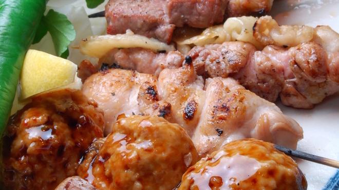 桜座蔵 - 料理写真:串焼き八本盛り