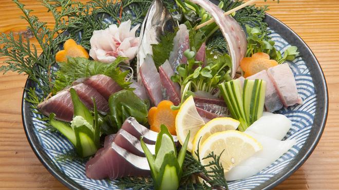 鳥の里 - 料理写真:☆魚刺身盛合せB☆
