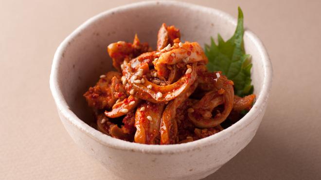豚料理 とんと - 料理写真:ガツチャンヂャ 豚の胃をチャンヂャにしました。