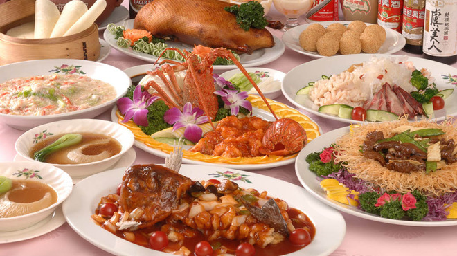 香港園 - 料理写真:コースの一例
