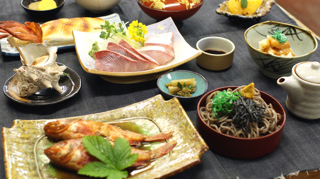 柿谷商店 - 料理写真:【みさき御膳】ひのみさきの名物全部入りのセットメニューです