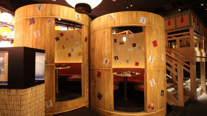 薩摩ごかもん - 内観写真:少人数向け樽個室もおすすめ