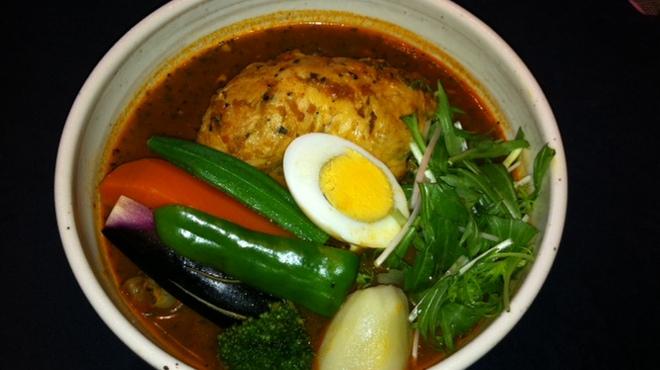 Neco - 料理写真:★トマトスープのチキンカリー★