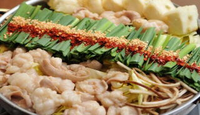 博多もつ鍋 山笠 - 料理写真:もつ鍋(味噌味)