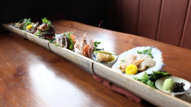 三枚目!貝柱海老蔵 - 料理写真:和盛