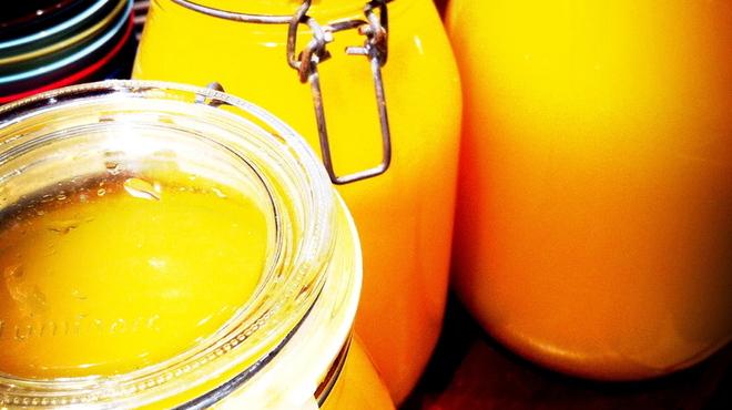 ターブルドット - 料理写真:自家製のリモンチェッロ