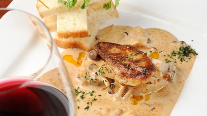 イチズ - 料理写真:上質な味わいたっぷり『黒毛和牛とフォアグラステーキ』