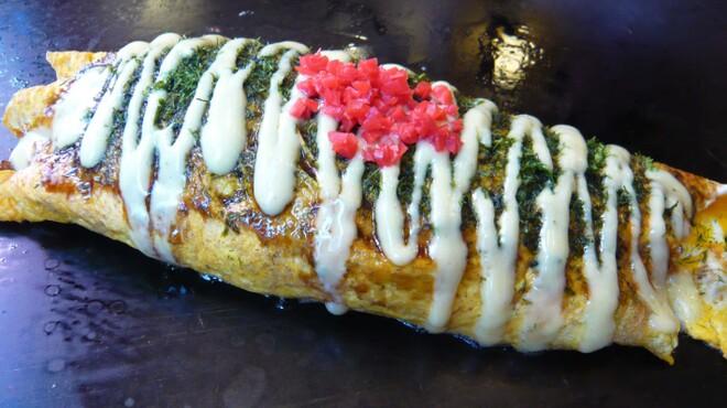 とんべえ - 料理写真:自慢のマヨネーズが食欲をそそります オムそば