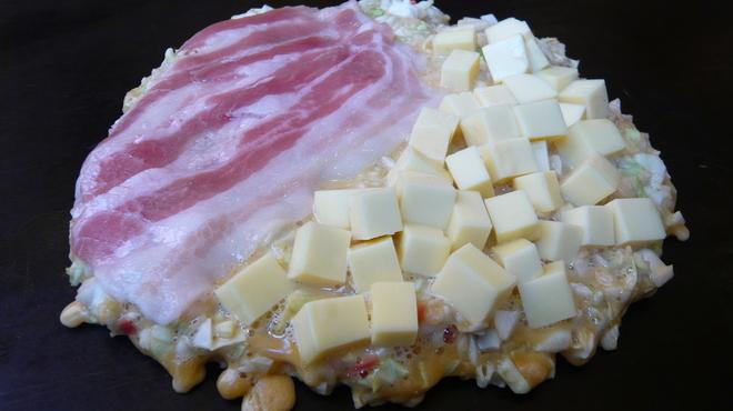 とんべえ - 料理写真:ぶたチーズ