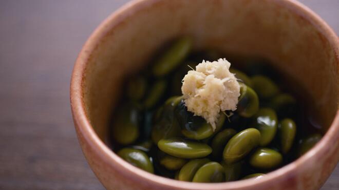 信州松本ヒカリヤ - 料理写真:ひたし豆