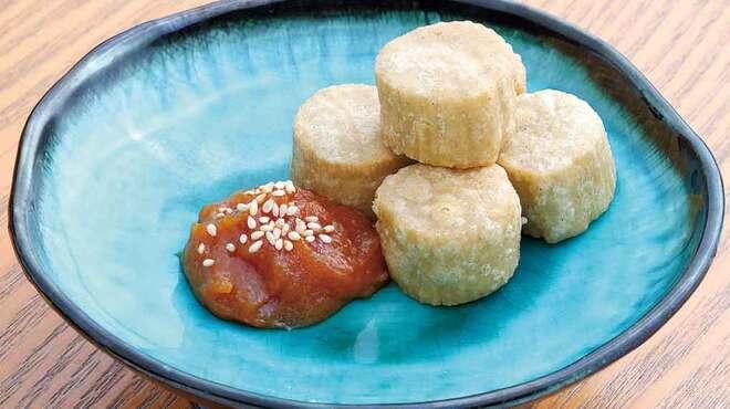 そば処 よこ亭 - 料理写真:そばだんご350円