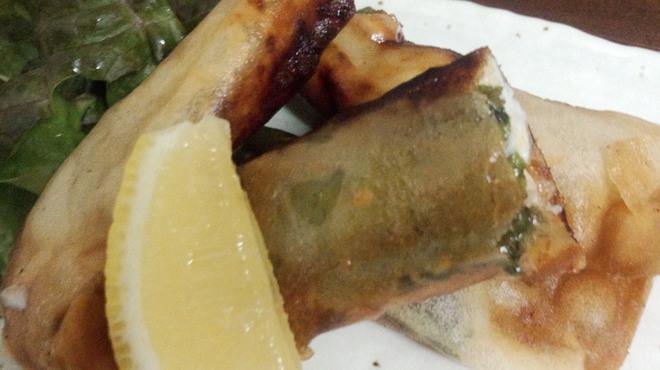酒楽家 うつ海 - 料理写真:チーズ春巻き 480円