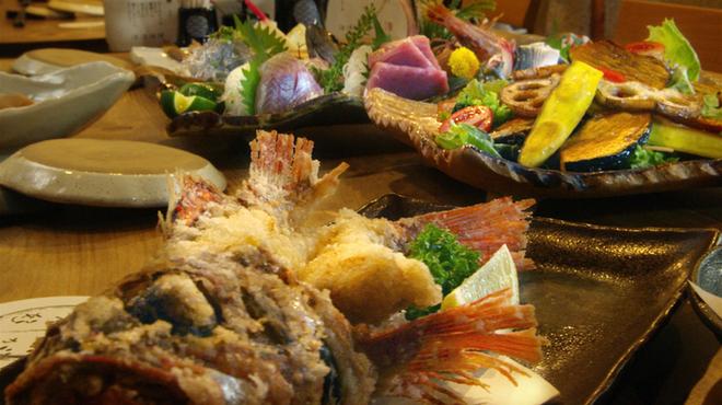 魚じょんがら べたなぎ - 料理写真:写真はイメージとなります。