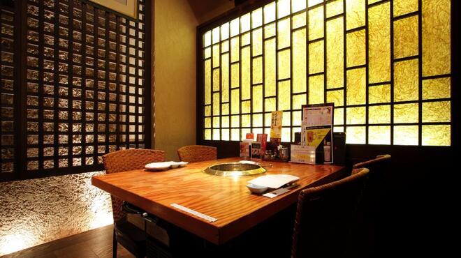 陽山道 - 内観写真:2~4名様用のテーブル個室です。