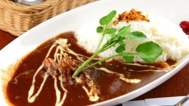 カフェ ド スイドウチョウ - 料理写真:手作りハヤシライス