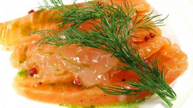 サンドグラスカフェ - 料理写真:『ノルウェーサーモンのマリネ』