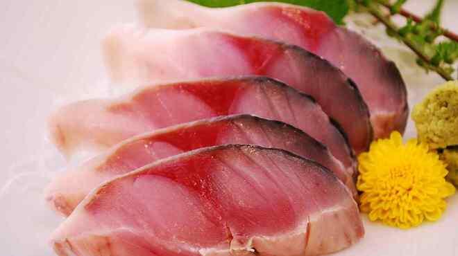 すし魚菜 かつまさ - 料理写真:〆さば刺身