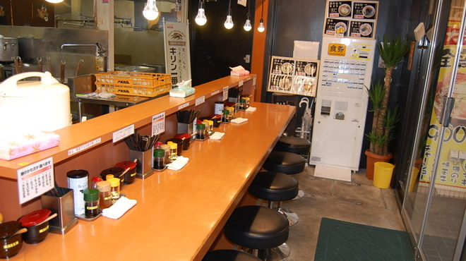 二十六代目 哲麺 - 内観写真: