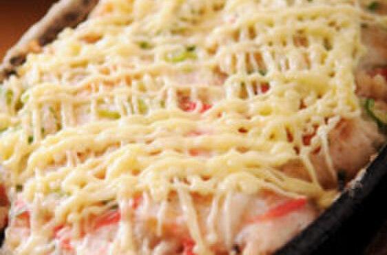 海鮮居酒屋 天秤棒 - 料理写真:やまいもとろろ焼き