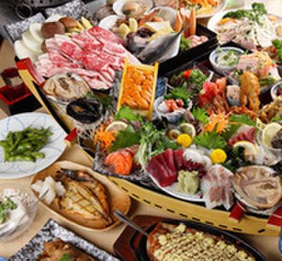 海鮮居酒屋 天秤棒 - 料理写真:自慢の海鮮料理