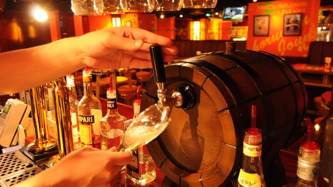 Spanish Bar Pasion - 料理写真:ドラフトスパークリングワインは樽生~。