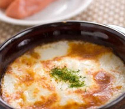 花みずき - 料理写真:大人気!!「明太子入り山芋グラタン」