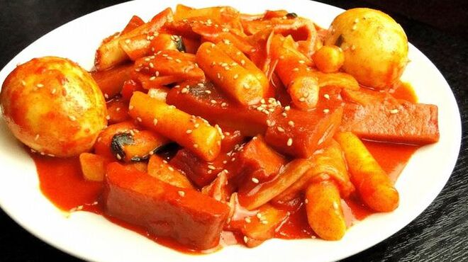 大院閣 - 料理写真:トッポギ
