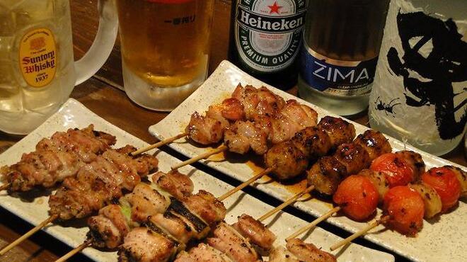 鳥吉 - 料理写真:こだわりの串焼は種類豊富です。ぜひお召し上がりください。