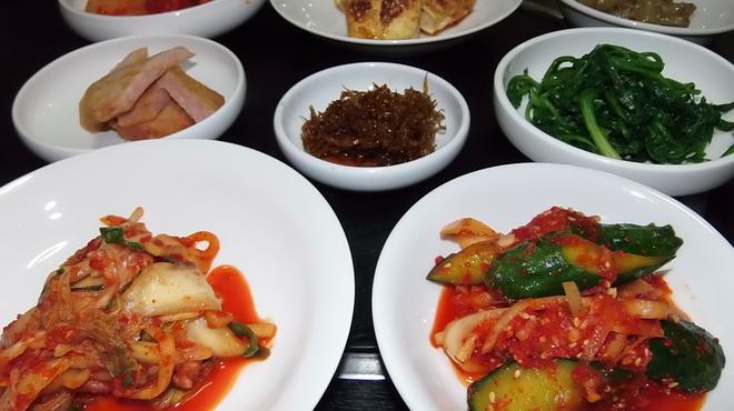 上野ソルロンタン - 料理写真:お通し