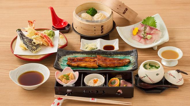 うなぎ福本 - 料理写真:楽々コース
