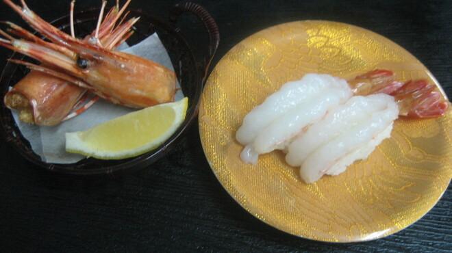 廻鮮寿司処 タフ - 料理写真:ぼたんえび