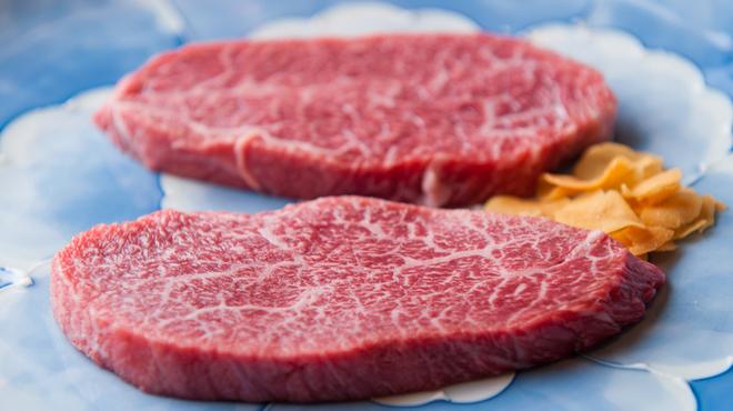 蔓牛 - 料理写真:希少な部位【クリステーキ】