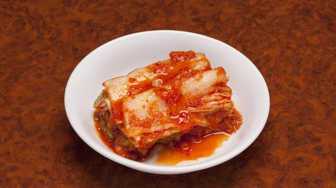 白雲台 - 料理写真:自家製白菜キムチ
