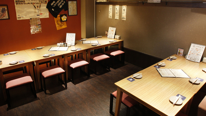 九州の地魚料理 侍 - 内観写真: