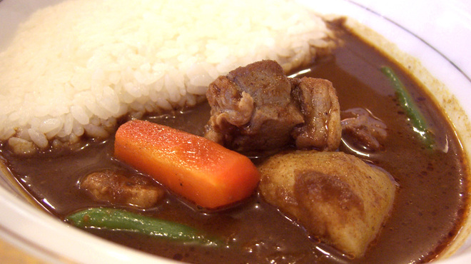 ベンガル - 料理写真:ポークカレー880円