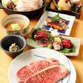 和乃匠 やまもと - 料理写真:脂のたっぷりのった『牛サーロインステーキ』