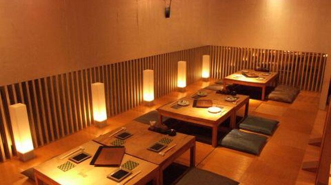 銀座和乃匠 - 内観写真:最大20名様までのご宴会に対応可能なお座敷席