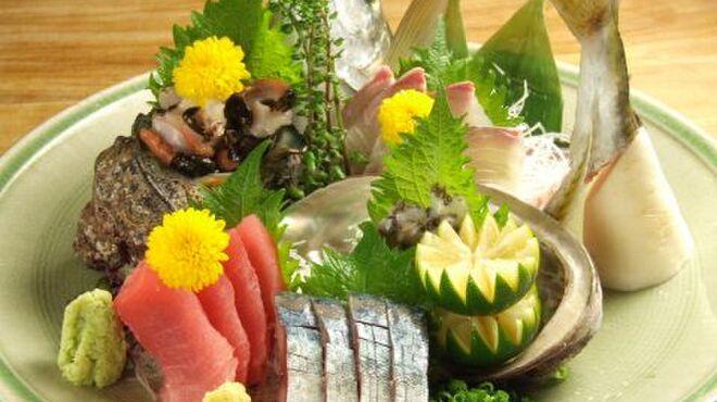 銀座和乃匠 - 料理写真:お造り盛合せ