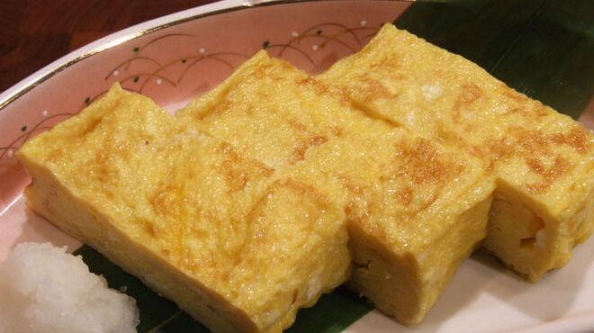 鬼瓦平蔵 - 料理写真:手作り厚焼き玉子