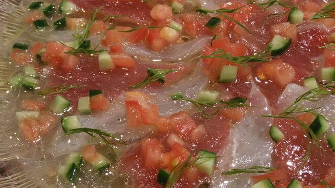 鬼瓦平蔵 - 料理写真:魚介のマリネサラダ