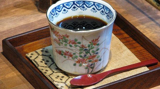 蕎麦処 みかわ - 料理写真:手選別、直火・遠赤外線焙煎の豆使用のコーヒー