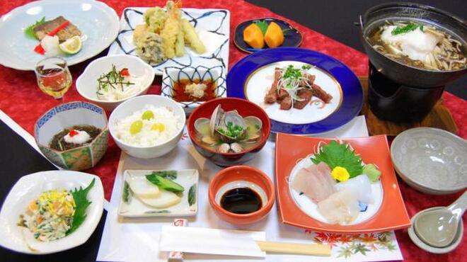 花のれん - 料理写真:▲コース料理は3000円~ご用意しております。4名様より事前予約で承ります。