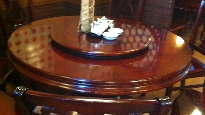 中国料理 福星楼 - 内観写真:円卓で気分はゴージャス!
