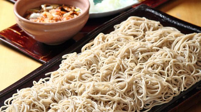 平沼 田中屋 - 料理写真:板蕎麦 2.5人前 汁別