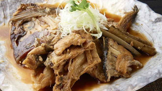 博多酒場きなっせい - 料理写真:鯛の兜煮 504円