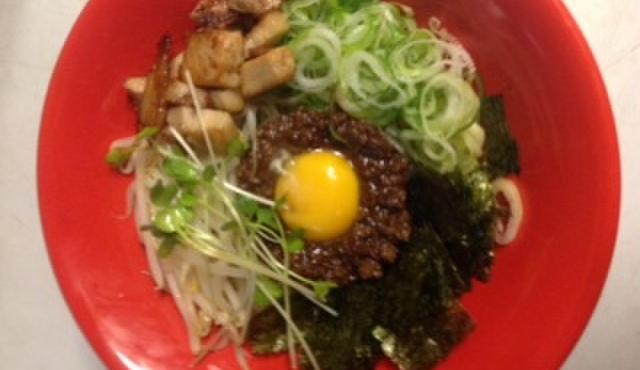 フジヤマ55 - 料理写真:ご当地名物岡崎まぜめん! 子供からお年寄りまで食べれるマイルドな味わいです!