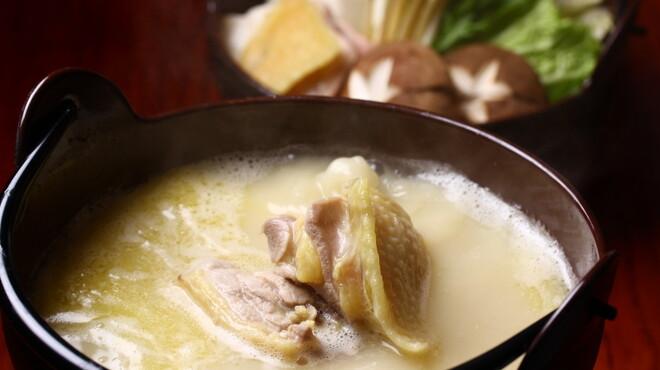 大人の隠れ居酒屋 豊和 - 料理写真:当店自慢 比内地鶏のコラーゲン鍋
