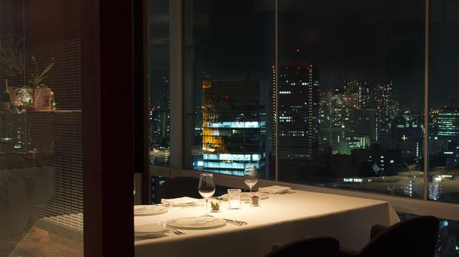 レストラン・ブリーズ・ヴェール - 内観写真: