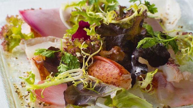 レストラン・ブリーズ・ヴェール - 料理写真:色鮮やかな料理