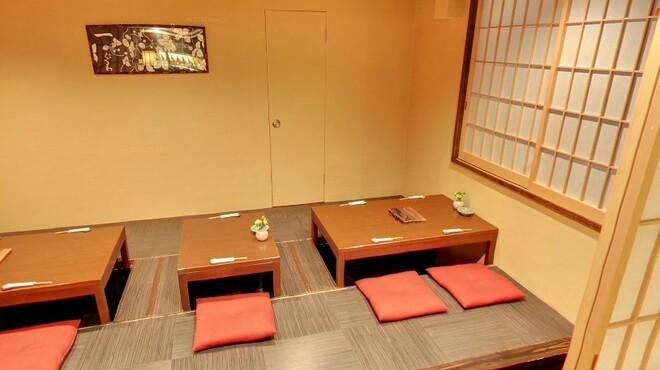 横浜くるわ - 内観写真:個室もございます♪